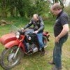 ICC - motorbike section: visiting collection of classic bikes